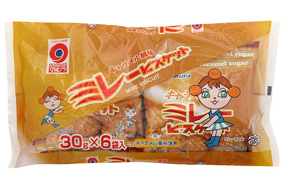 小袋6連キャラメル風味ミレー