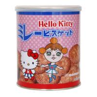 ハローキティミレービスケット缶
